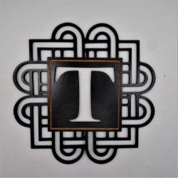 Better Letters Geometric Large-V-Black