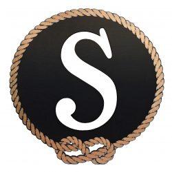 Better Letters Nautical Large-J-Black