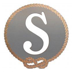 Better Letters Nautical Small-E-Gray
