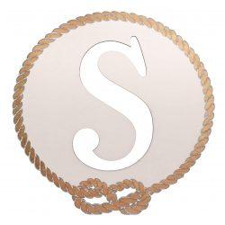Better Letters Nautical Small-U-White
