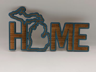 Home Decor HOME MI CW Blue